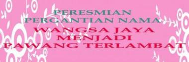 PAWANG PERESMIAN 3
